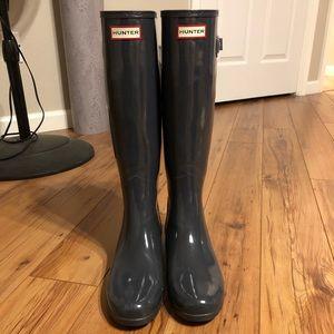 NWOT Hunter Boots Sz 9